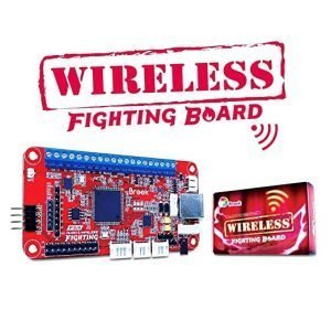 Wireless Fighting Board + Audio (PS4/PS3/Switch/PC)