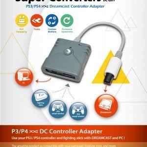 PS3/PS4 to Dreamcast (Super Converter)