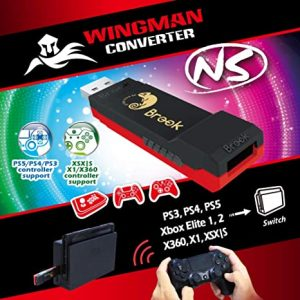 Wingman NS (PS4/PS3/Xbox 360/Xbox One a Switch)