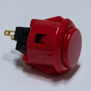Sanwa OBSF 24mm Botón – Rojo (Red)