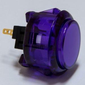Sanwa OBSC 30mm Botón Translúcido – Morado (Clear Purple)