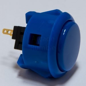 Sanwa OBSF 30mm Botón – Azul Mate (MatteBlue)