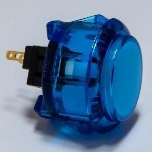 Sanwa OBSC 30mm Botón Translúcido – Blue (Clear Blue)