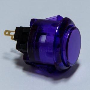 Sanwa OBSC 24mm Botón Translúcido – Morado (Clear Purple)