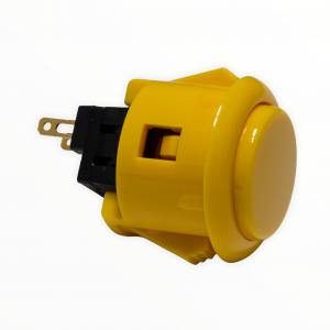 Sanwa OBSF 24mm Botón – Amarillo (Yellow)