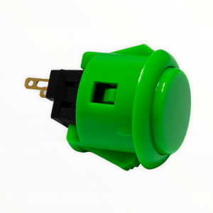 Sanwa OBSF 24mm Botón – Verde (Green)