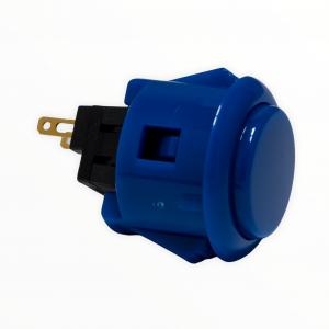 Sanwa OBSF 24mm Botón – Azul Mate (MatteBlue)