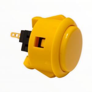 Sanwa OBSF 30mm Botón – Amarillo (Yellow)