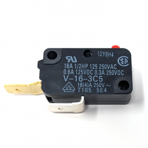 Microswitch 200gf – 0.250in (Omron V-16-3c5)