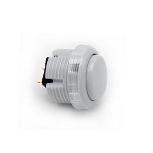 Qanba Gravity 30mm Botón Mecánico – Gris (Violet Gray)