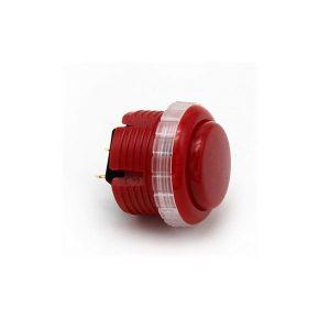 Qanba Gravity 30mm Botón Mecánico – Rojo (Red)