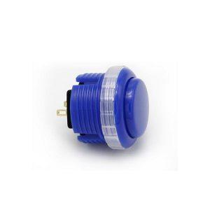 Qanba Gravity 30mm Botón Mecánico – Azul Medio (Middle Blue)