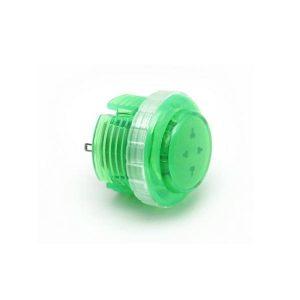Qanba Gravity 30mm Botón Mecánico – Translucido – Verde (Green)