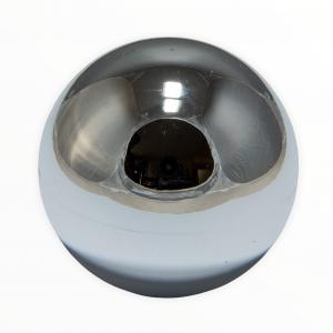 Sanwa LB-35 Balltop Metallic – Plateado (Silver)